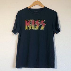 Zara KISS Party Everyday Tee Sz Large